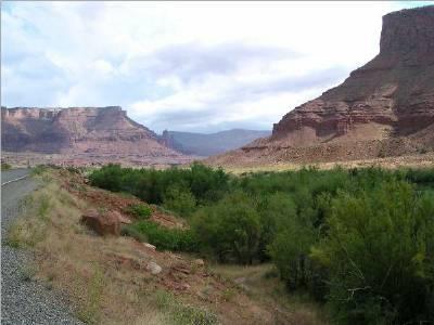 Utah Drive - Colorado border to Moab