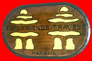 Wood Carving from Artistic Compound, Panama City, Country of Panama