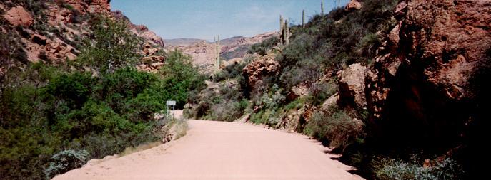 Apache Junction Drive, Arizona