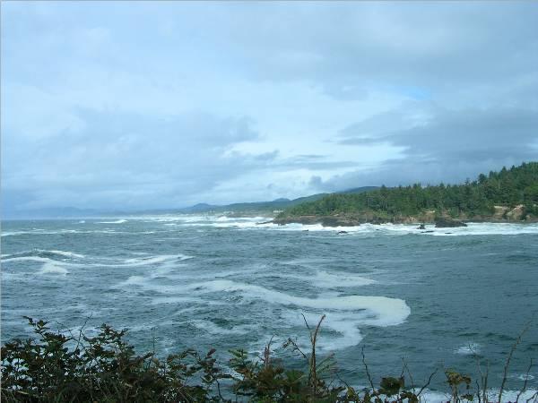 Pacific Coastline in Northern Oregon