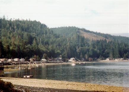 Puget Sound in Washington State